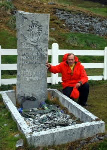 I pay my respects at Shackleton's