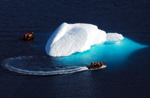 Iceberg in Karrat Fjord, on