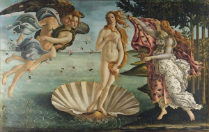 The Birth of Venus, by Sandro Botticelli