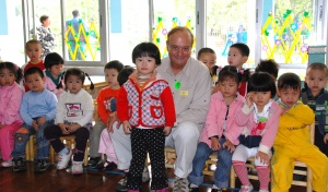 With China's newest generation at a Shekou