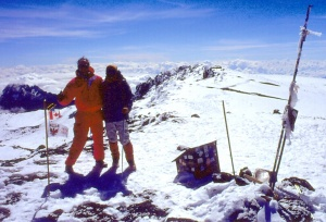 At age 50, I stand on the summit of Mt. Kilimanjaro